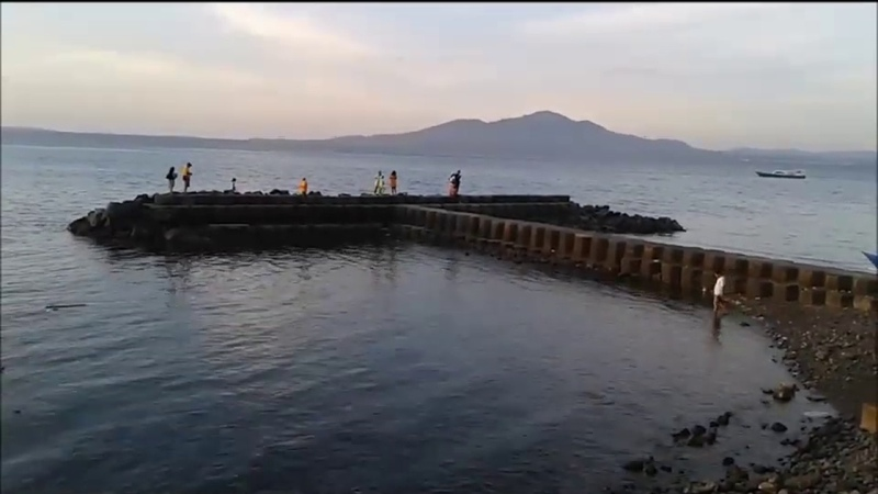 Pantai Malalayang Manado Kenangan Bersama Angela CTIDS