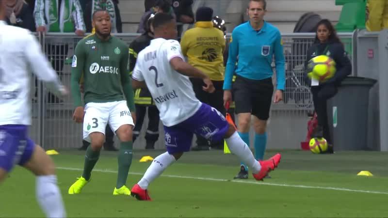 Сент Этьен - Тулуза. AS Saint-Etienne - Toulouse FC - Résumé - (ASSE - TFC) 2018-19 - LIGUE 1