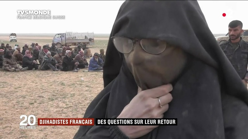 France le casse-tête du rapatriement des djihadistes de Daech