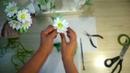 Цветочная композиция из ромашек. Цветы из мастики - Я - ТОРТодел!