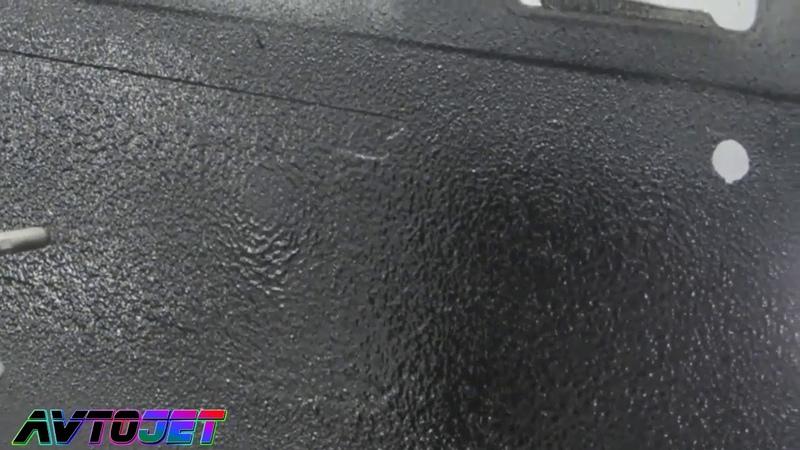 Пример нанесения защитного покрытия Jeta Superior Alligator
