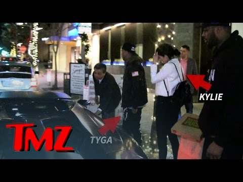 Kylie Jenner and Tyga -- Car Trouble During Beverly Hills Date Night | TMZ