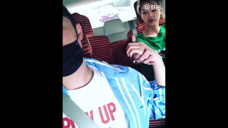180420 LuHan @ Chen He Weibo Update
