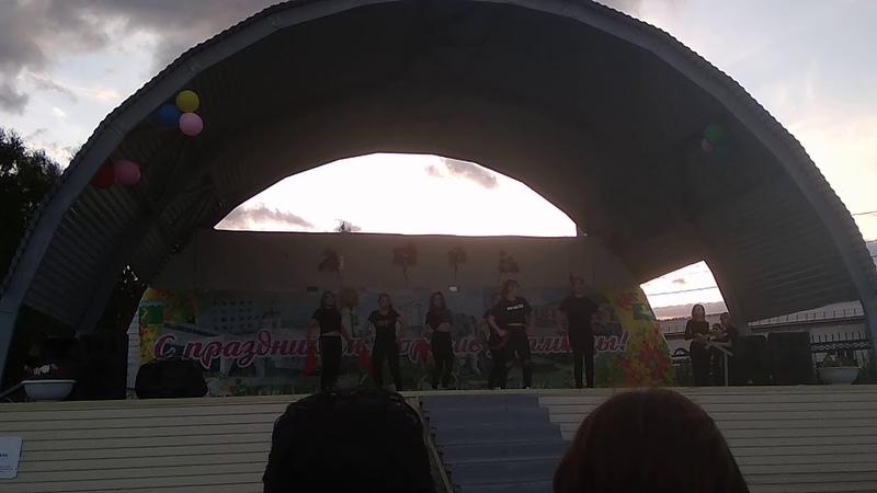 Флешмоб танцевального коллектива NSD