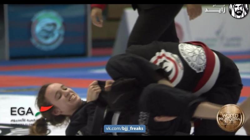Zahra Majid vs Polina Gorkova bjf_girls worldPro18 bjf_kids