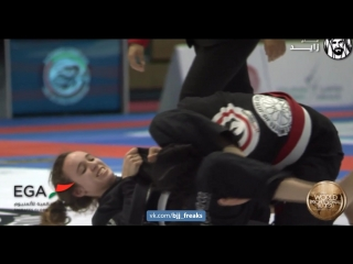 Zahra Majid vs Polina Gorkova #bjf_girls #worldPro18 #bjf_kids