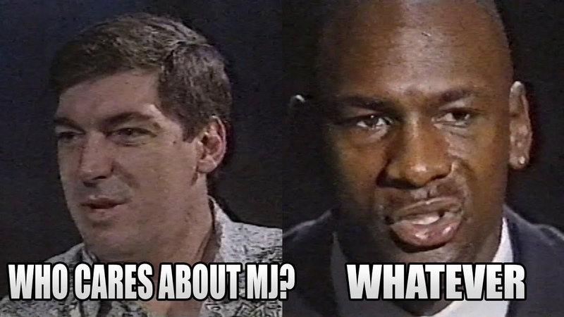 Laimbeer Took Shots at MJ and MJ's Response (1992.04.19)
