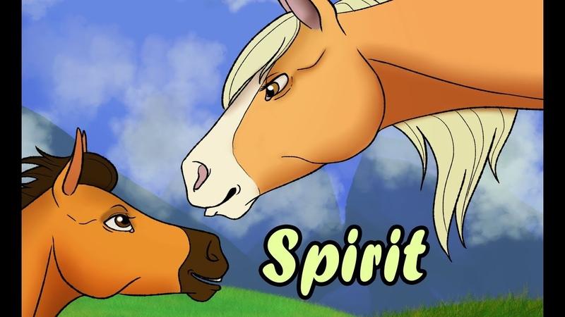РИСУЮ СПИРИТА И ЭСПЕРАНЗУ СПИДПЕЙНТ SPEADPAINT Spirit Stallion of the Cimarron