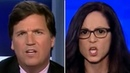 """Don't Make Me Cut You Off"""" HIGHLY Unstable Feminist Communist Gets Tossed by Tucker"""