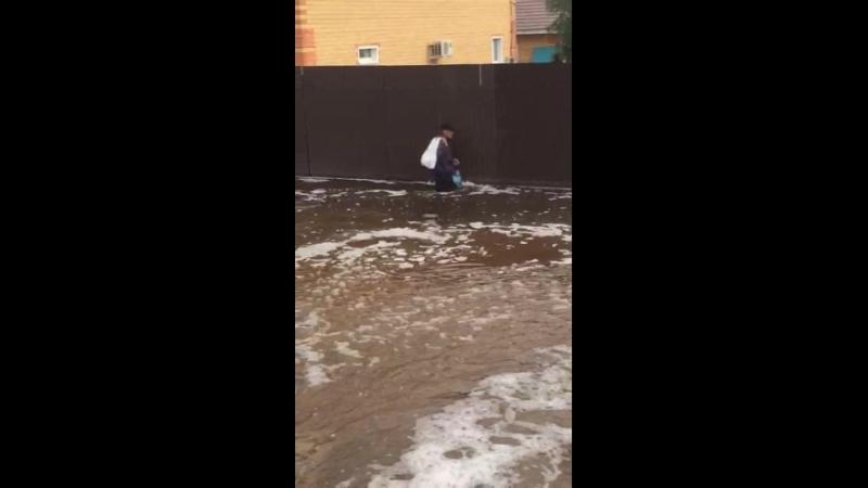 Наводнение в Забайкалье Смоленка