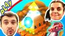 БолтушкА и ПРоХоДиМеЦ Отправились в ДРАКОНЬЮ ПИРАМИДУ! 122 Игра для Детей - Легенды Дракономании