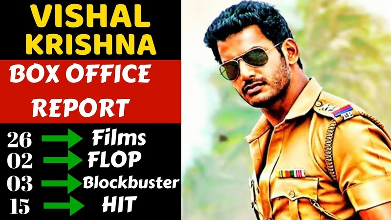 Vishal Box Office Collection Analysis Hit, Flop and Blockbuster Movies List