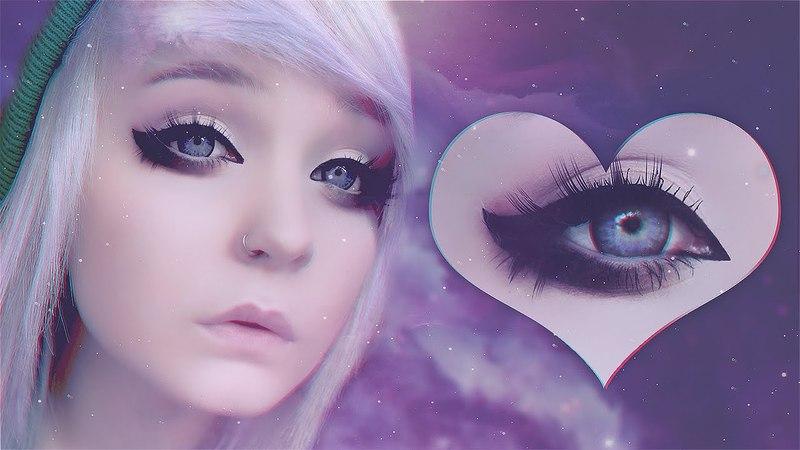 Dramatic eyeliner tutorial