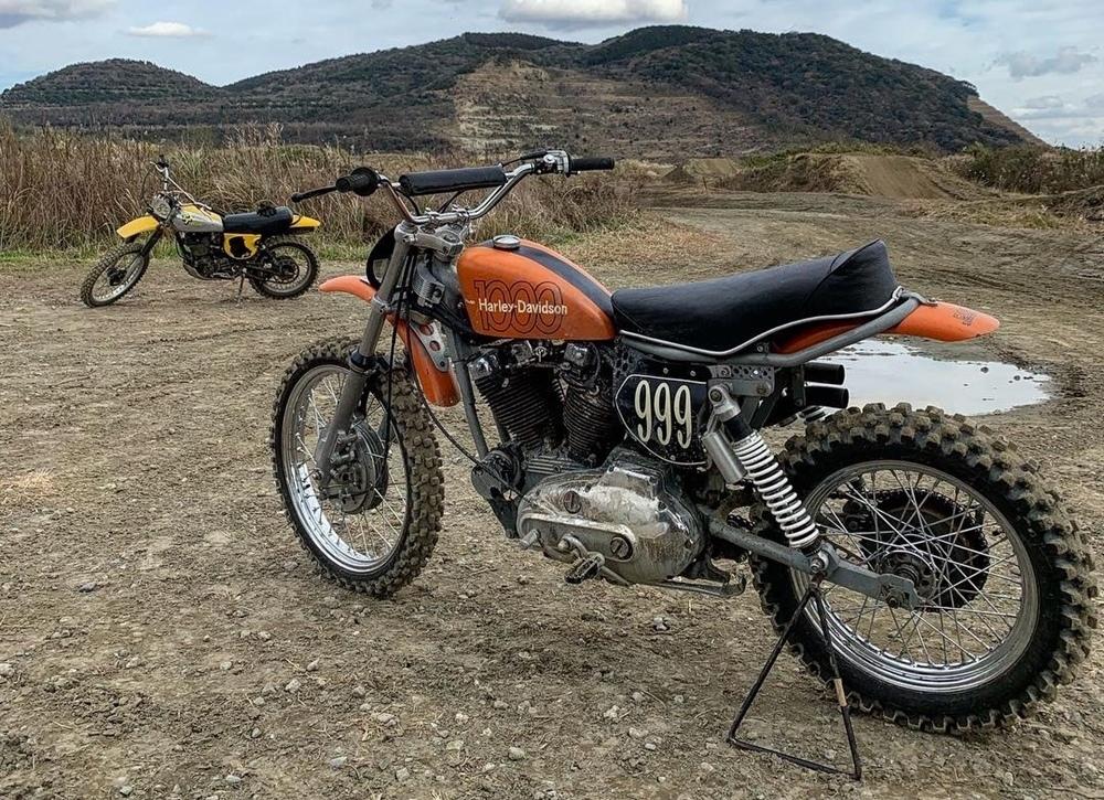 Bull Original: кроссбайк Harley-Davidson MX1000 Ironhead