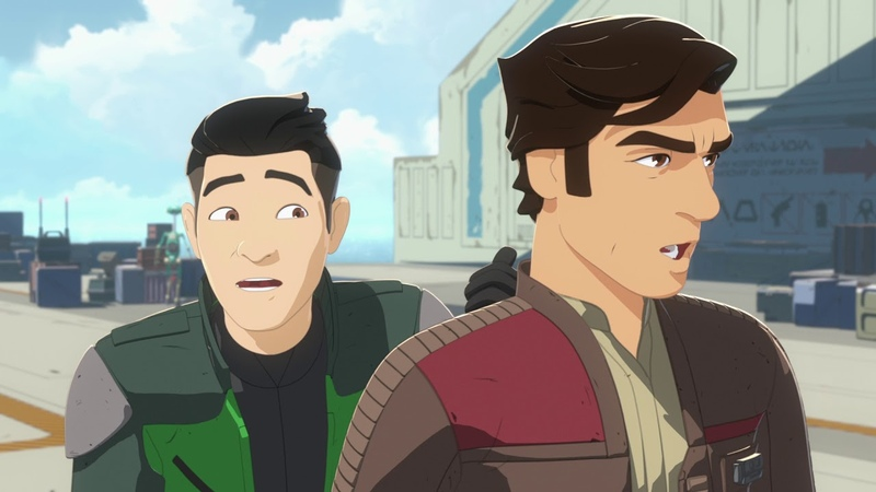 First Look Trailer Star Wars Resistance Disney