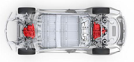Илон Маск анонсировал полно приводную Tesla Model 3.
