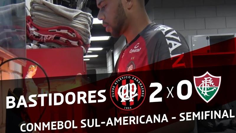 MAIS UM PASSO - Atlético Paranaense x Fluminense | BASTIDORES