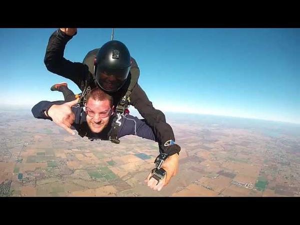 Emergency Chute - Epik Birthday Skydive