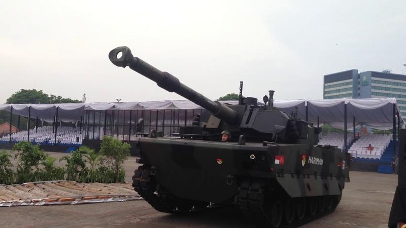 Демонстрация танка Harimau - 1
