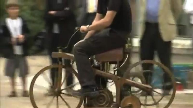 Daimler Reitwagen 1885 - мотоцикл Даймлера