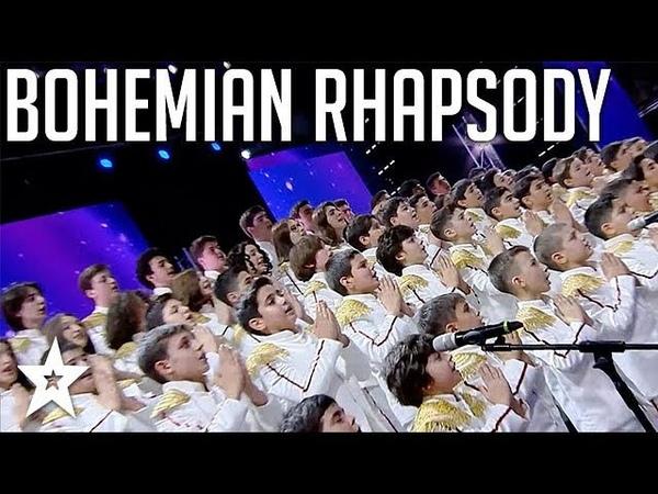 Choir Amazes Judges Singing Bohemian Rhapsody By QUEEN on Georgias Got Talent | Got Talent Global