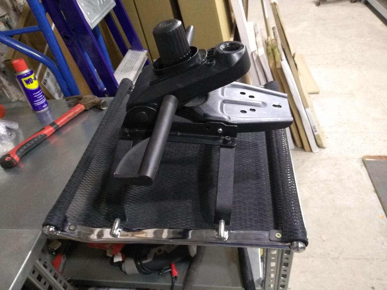ремонт спинки кресла