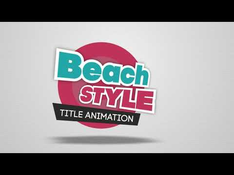 60 STYLISH TITLE ANIMATIONS (VIDEOHIVE PROJECT)