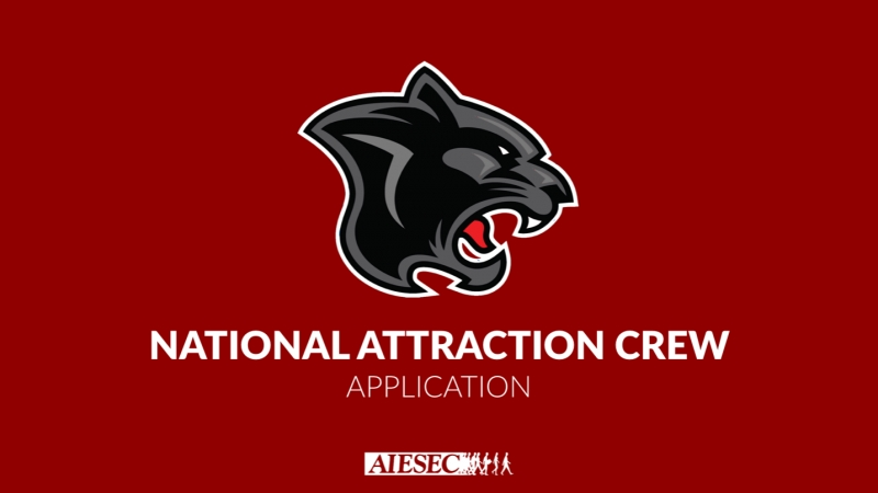National Attraction Crew Application or simply amazing opportunity for you