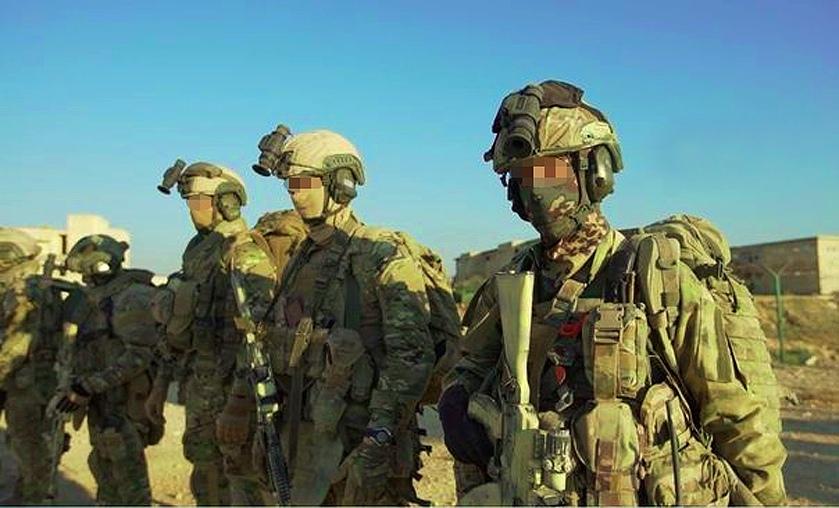 Бойцы ССО в Сирии