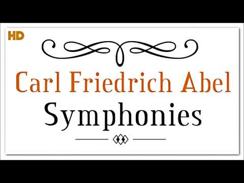 Carl Friedrich Abel Symphonies Op.7   Classical Baroque Music