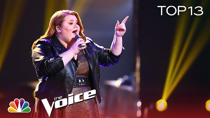 MaKenzie Thomas Does JHUD Proud with I Am Changing - The Voice 2018 Live Top 13 Performances