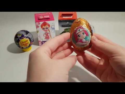 Микс Cюрпризов Sweet Box Свит Бокс Смурфики Носики-курносики и другие 🍬 MacaroonCookiesToys Video
