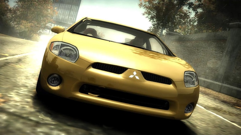 Need for Speed Most Wanted (2005) | FWD Mitubishi Eclipse GT V6 3.8 24V - Test Drive Gameplay (1080p60fps)