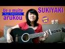 Kyu Sakamoto Ue o muite arukou Sukiyaki acoustic KYN LYRICS CHORDS in the description