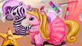 Fun Animal Hair Salon &amp Play Cutest Pony Makeover Games for Girls - Pony Sisters Hair Salon Games