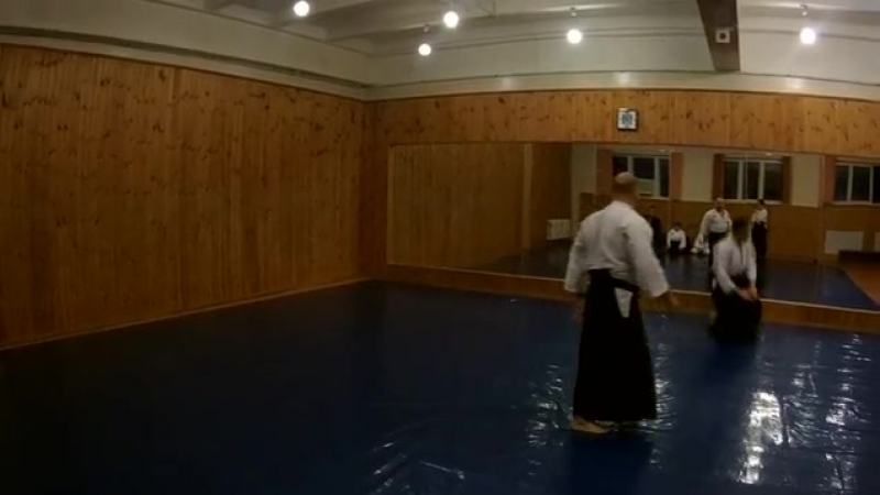 Aikido practice daily
