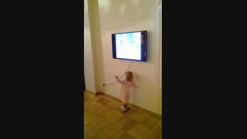 Будущая балерина в музее актеров Самойловых. Санкт-Петербург