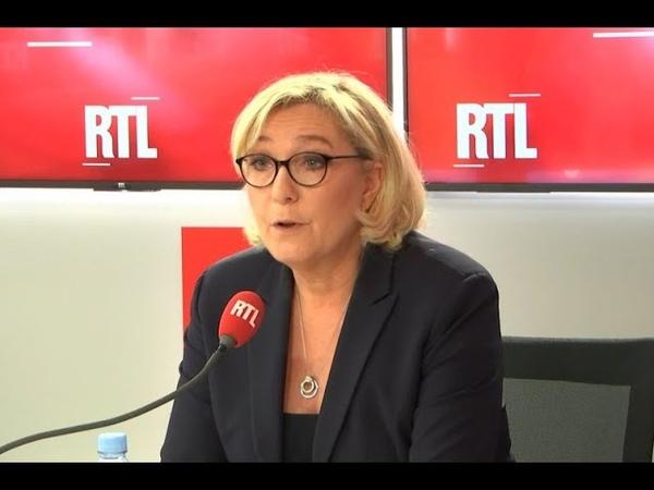 Gilets jaunes immigration et petites piques Marine Le Pen était l'invitée de RTL le 19 décembre