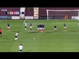 Reiss Nelsons free-kick for England U21s. The boy is on fire AFC COYG