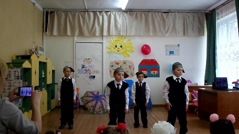 Выпускной в детском саду Сосенка 2018 год Танец Крутые парни танцуют выпускники