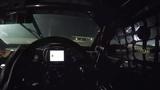Shane van Gisbergen drifts a custom VF Holden Commodore Supercar