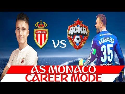 FIFA 18 Карьера за Монако 4 Головин встречается со старыми друзьями