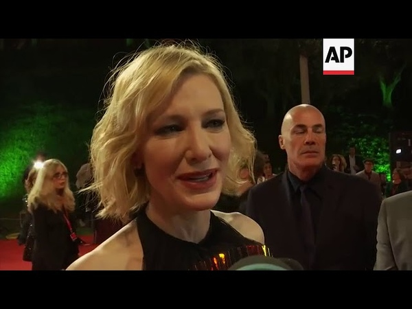 Cate Blanchett premieres 'The House with a Clock in its Walls' at Rome Film Festival