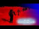 Красивый фильм на GoPro о школе телемарка горные лыжи начального уровня в г Кировск 25 км