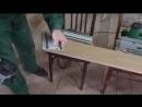 Направляющая шина своими руками на коленке - YouTube