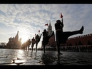 Military parade commemorates 1941 Red Square march
