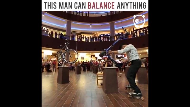 Может сбалансировать все, что угодно