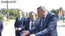 Губернатор Кувшинников О А Встреча у Сухонского ДК