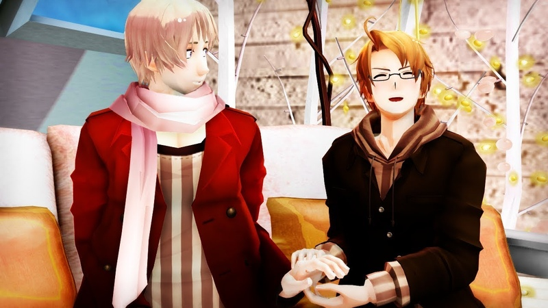 【MMD】 APH RusAme ║They Dont Know About Us 【60 fps】