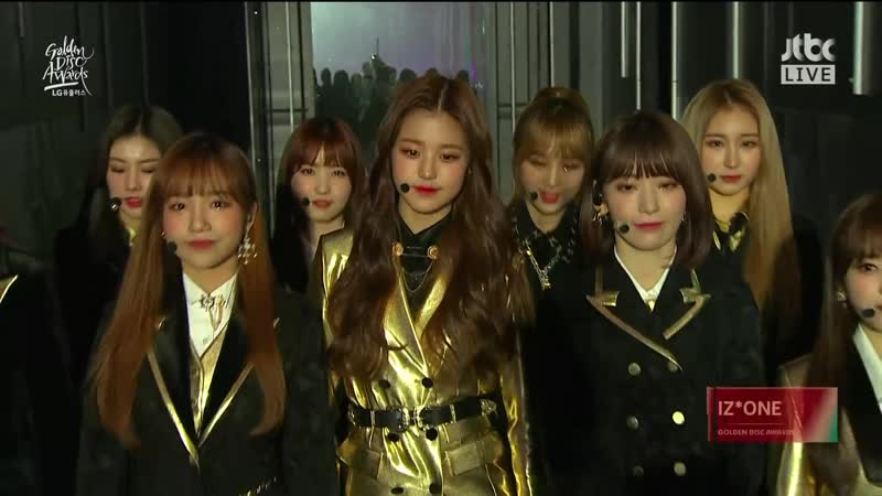 IZONE @ 2019 The 33rd Golden Disc Awards Day 2 190106 (P.1)
